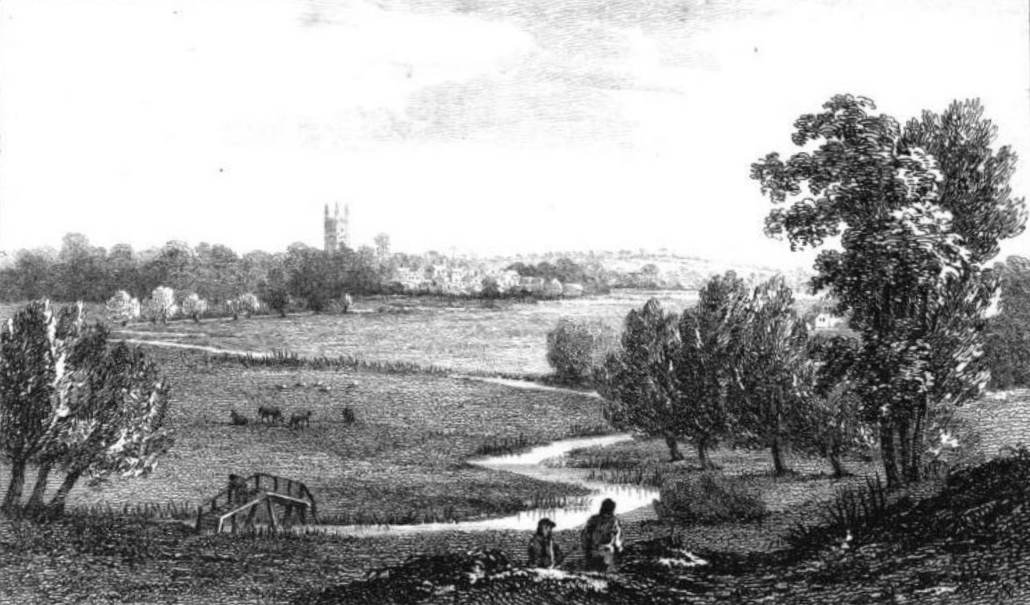 Cricklade in Thames by Cooke & Owen 1811