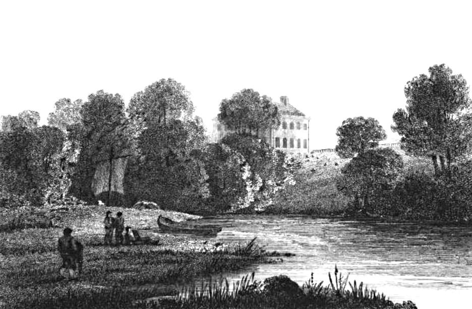 Culham Court in Thames, Cooke & Owen 1811