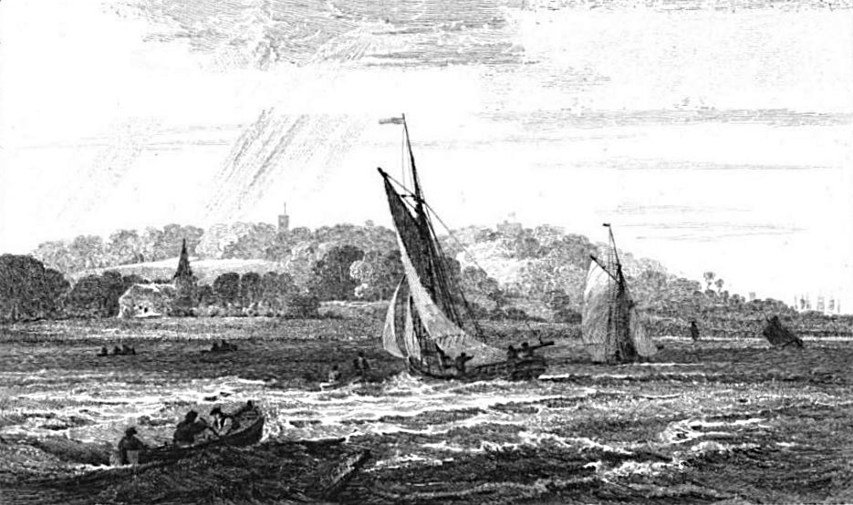 Erith in Thames, Cooke & Owen 1811