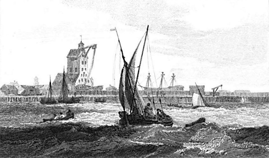 Mast House, in the Dock at Blackwall in Thames, Cooke & Owen 1811