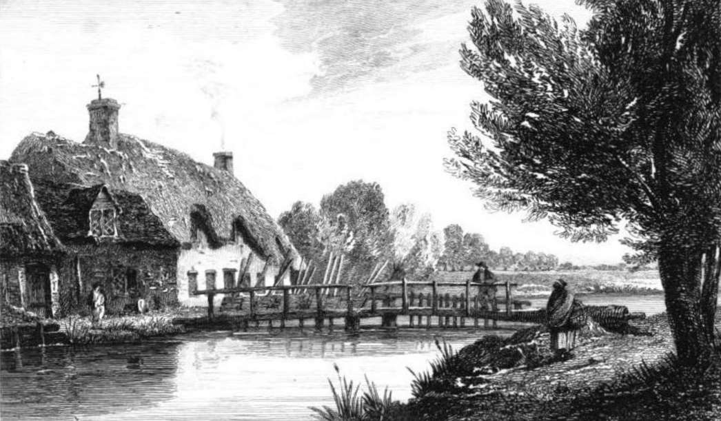 Radcot Weir in Thames by Cooke & Owen 1811