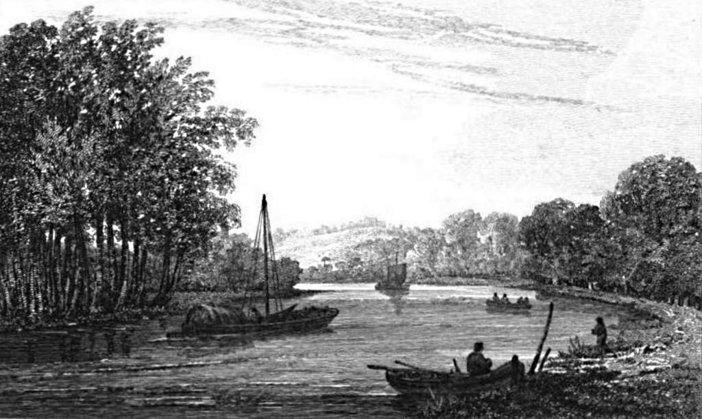 Richmond Hill in Thames, Cooke & Owen 1811