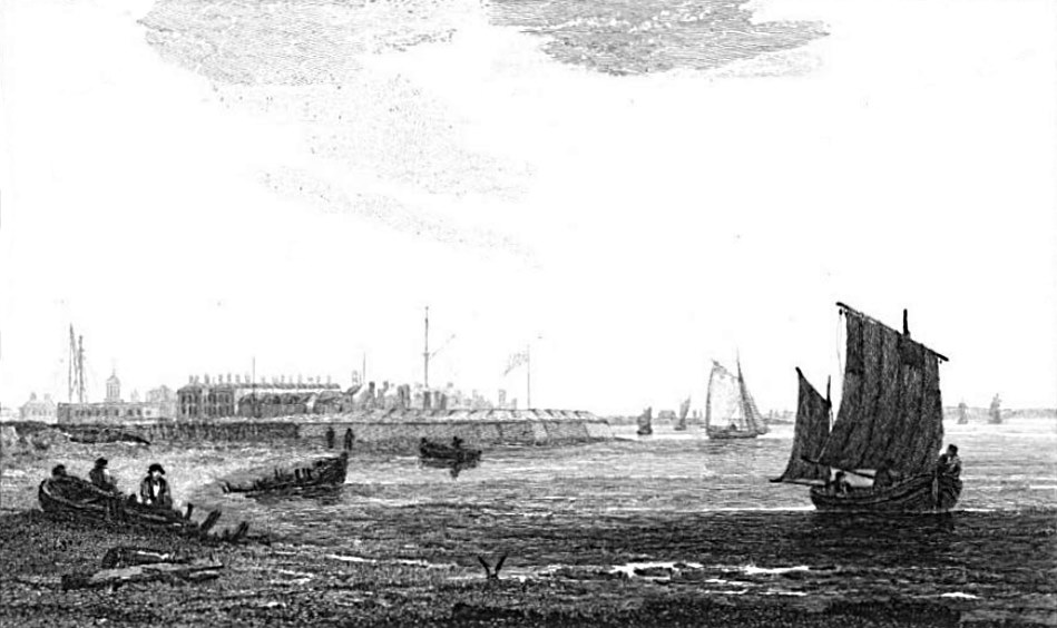 Sheerness in Thames, Cooke & Owen 1811