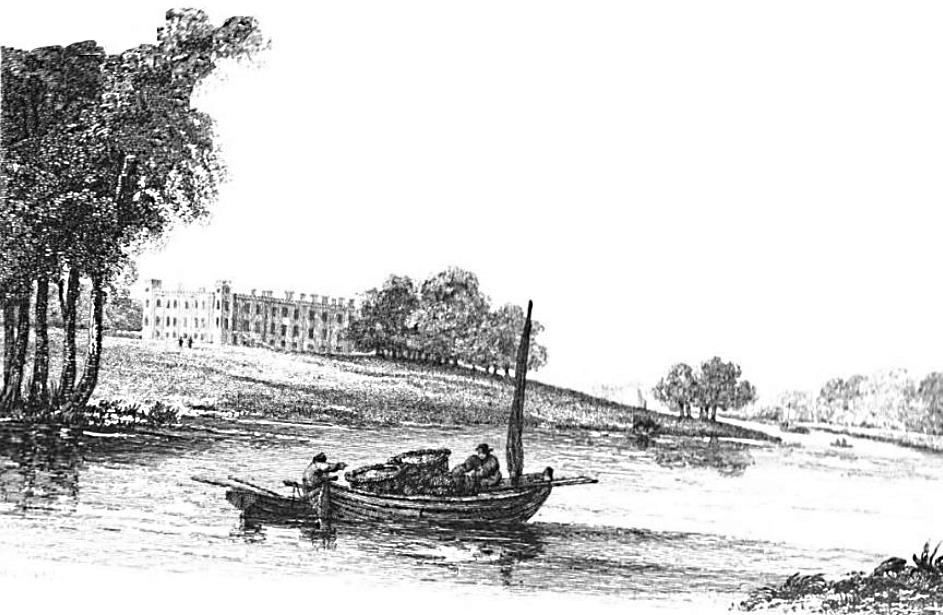 Sion House in Thames, Cooke & Owen 1811