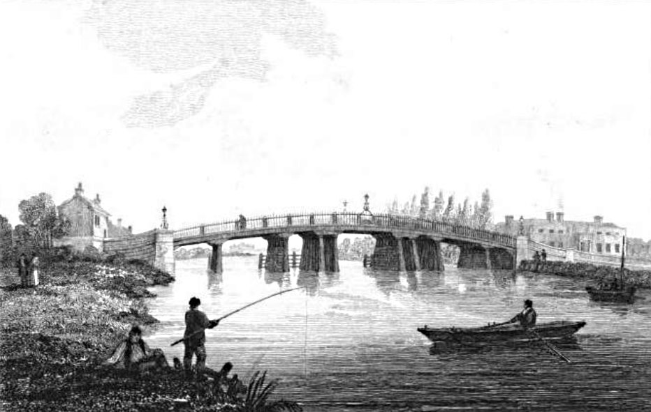 Staines Bridge in Thames, Cooke & Owen 1811