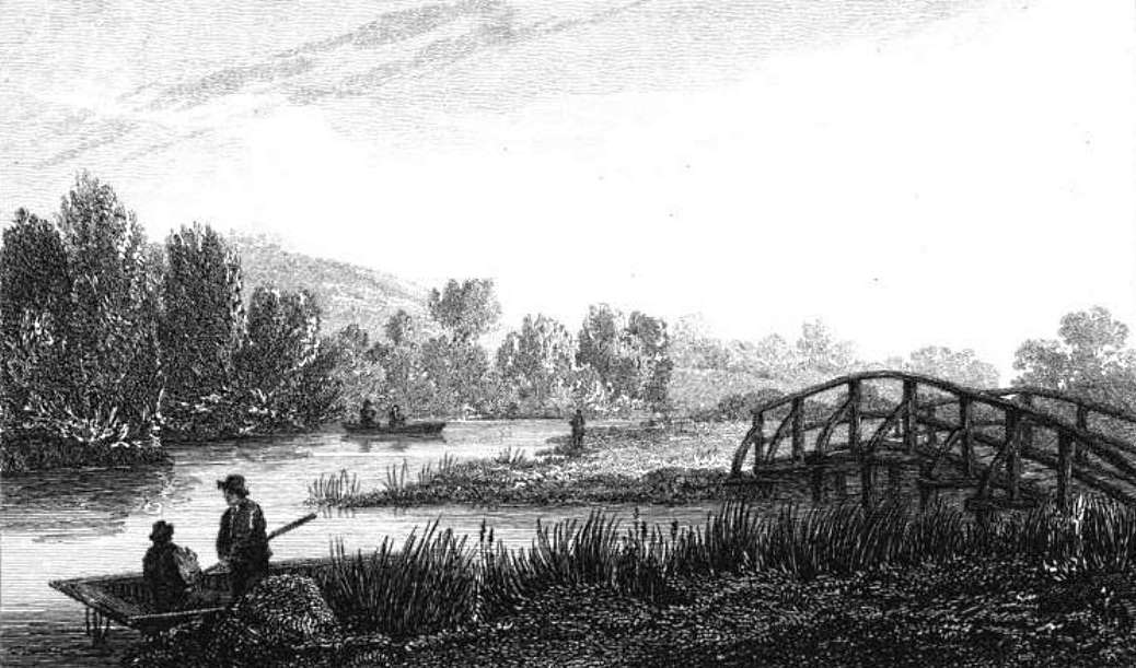 Junction of Thame & Isis in Thames, Cooke & Owen 1811