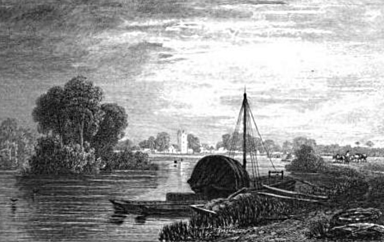 Cookham View P.Dewint in Thames, Cooke & Cooke 1818