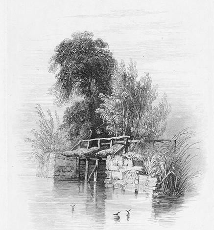 Iffley Weir in Thames, Cooke & Cooke 1818