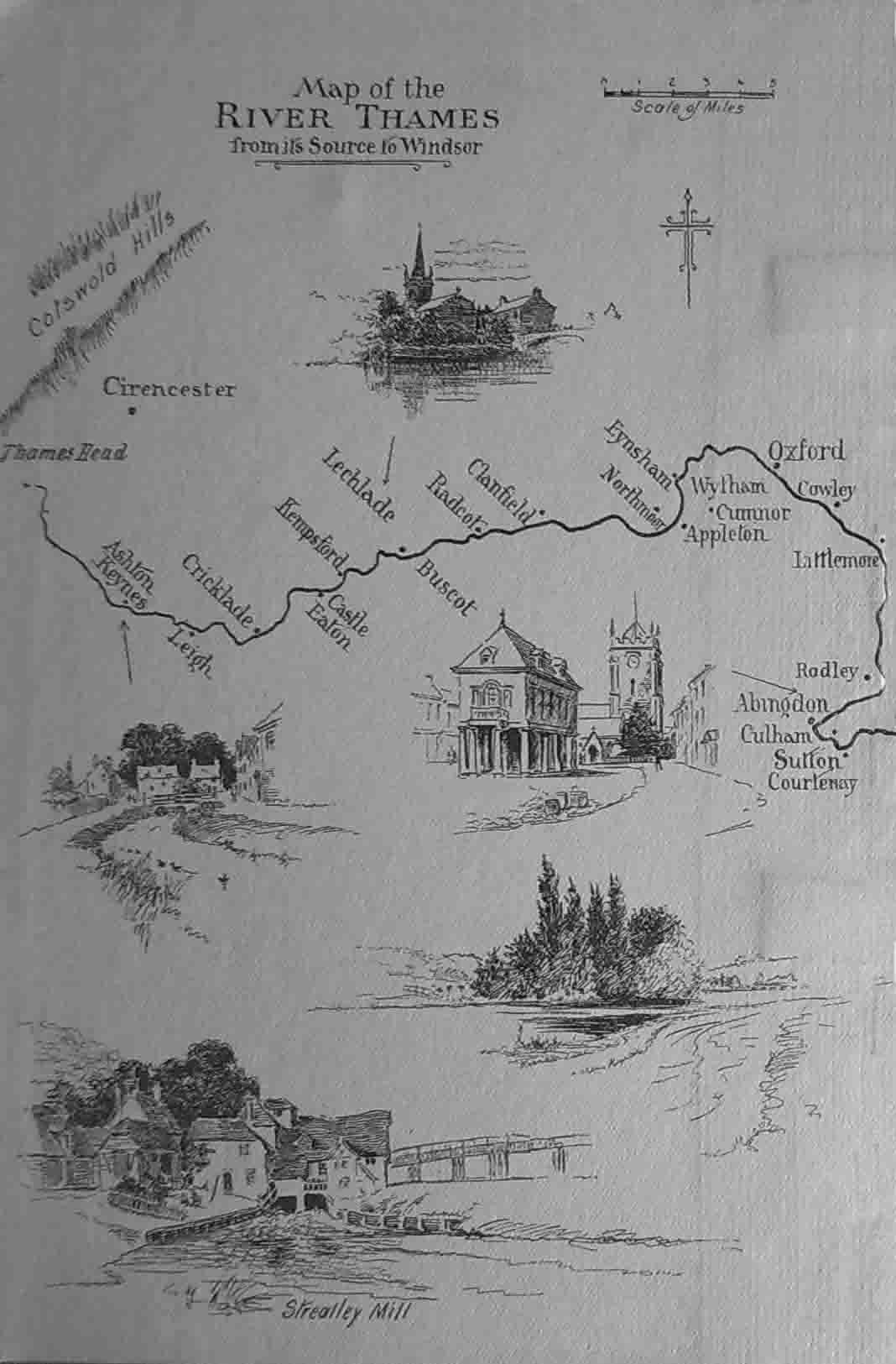 Thames Map, Walter Higgins, 1923