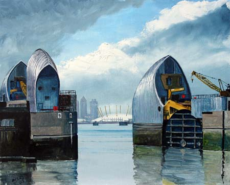 Thames Barrier, Myers 2005