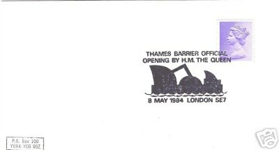 Barrier Opening Letter Cover, 1984