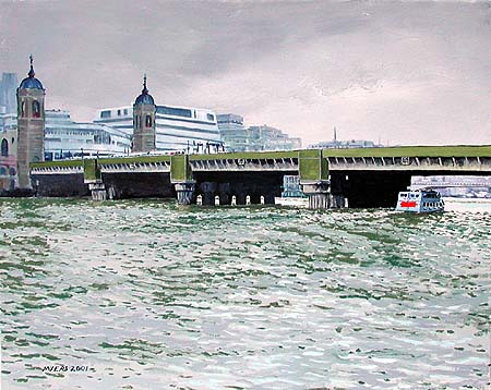 Cannon Street Railway Bridge � 2001, Doug Myers