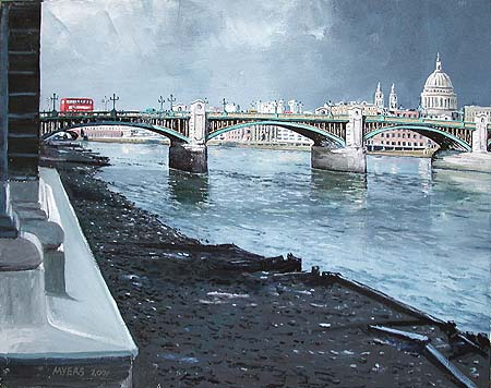 Southwark Bridge © 2001 Doug Myers