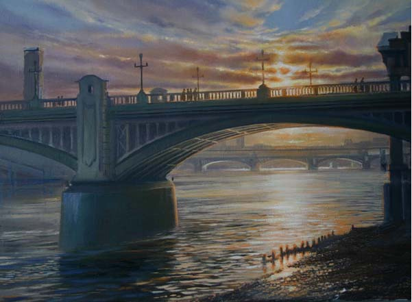 Southwark Bridge, Ashley Bryant