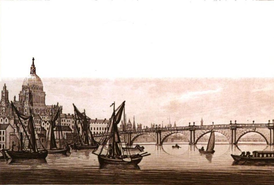 Blackfriars' Bridge, Ireland, 1802