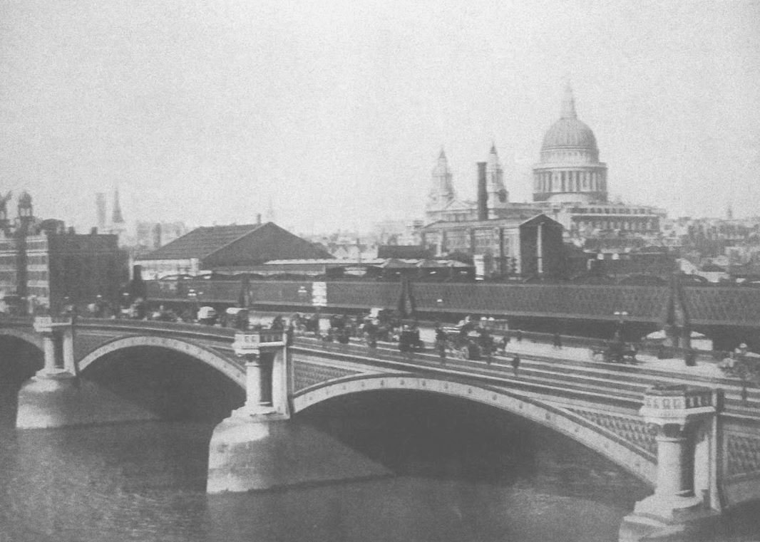 Blackfriars Bridge, 1896