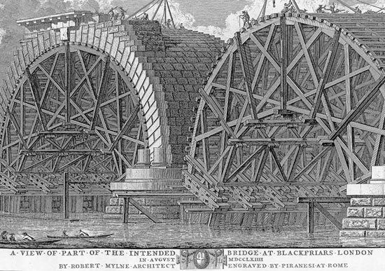 Blackfriars Bridge 1764