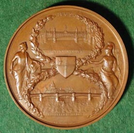 Blackfriars Bridge Medallion 1869