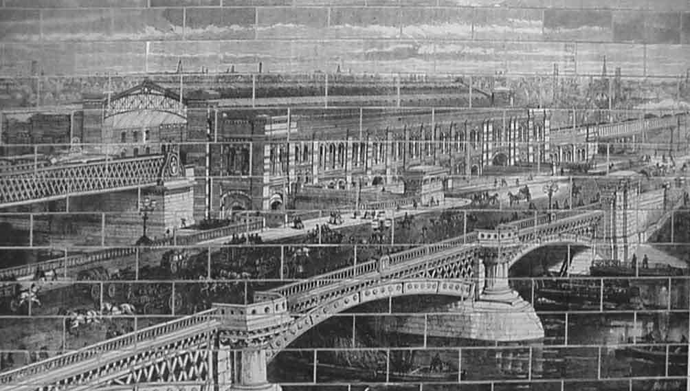 Blackfriars Bridge and Railway Bridge