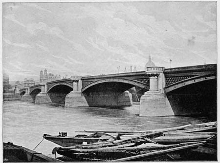 Blackfriars Bridge, James Dredge, 1897