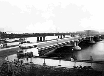 Blackfriars Bridge, Frith 1880