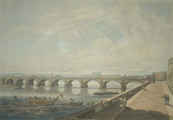Waterloo Bridge, 1818