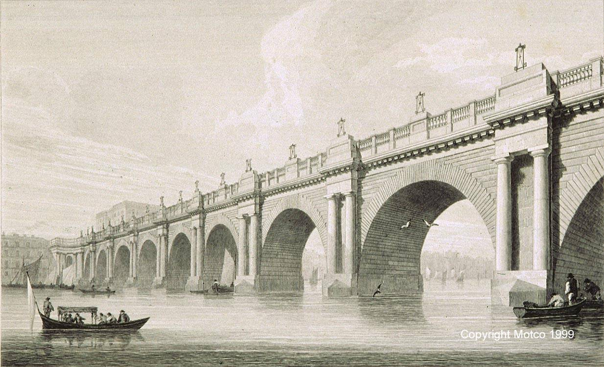 Waterloo Bridge 1814 © MOTCO