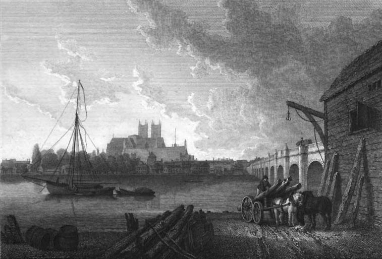 Westminster Bridge 1792 in Ireland