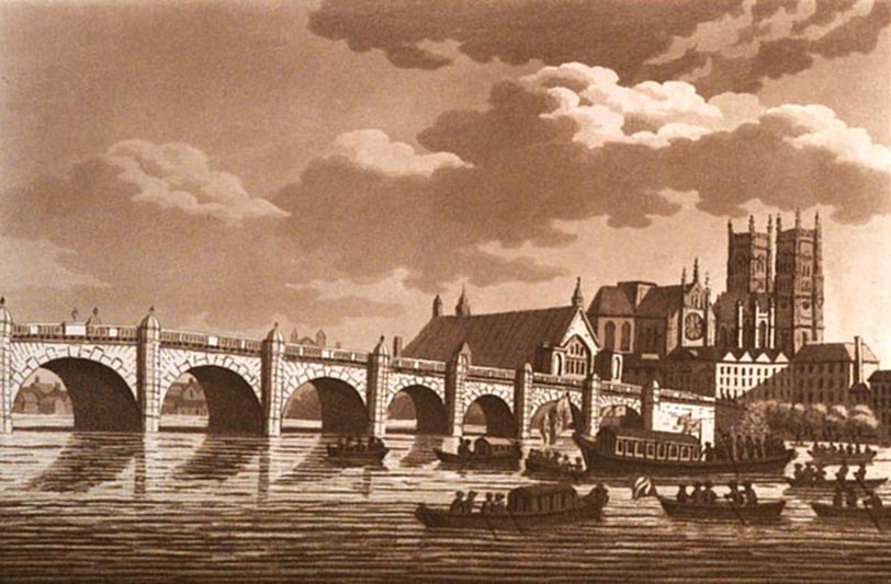 Westminster Bridge 1802