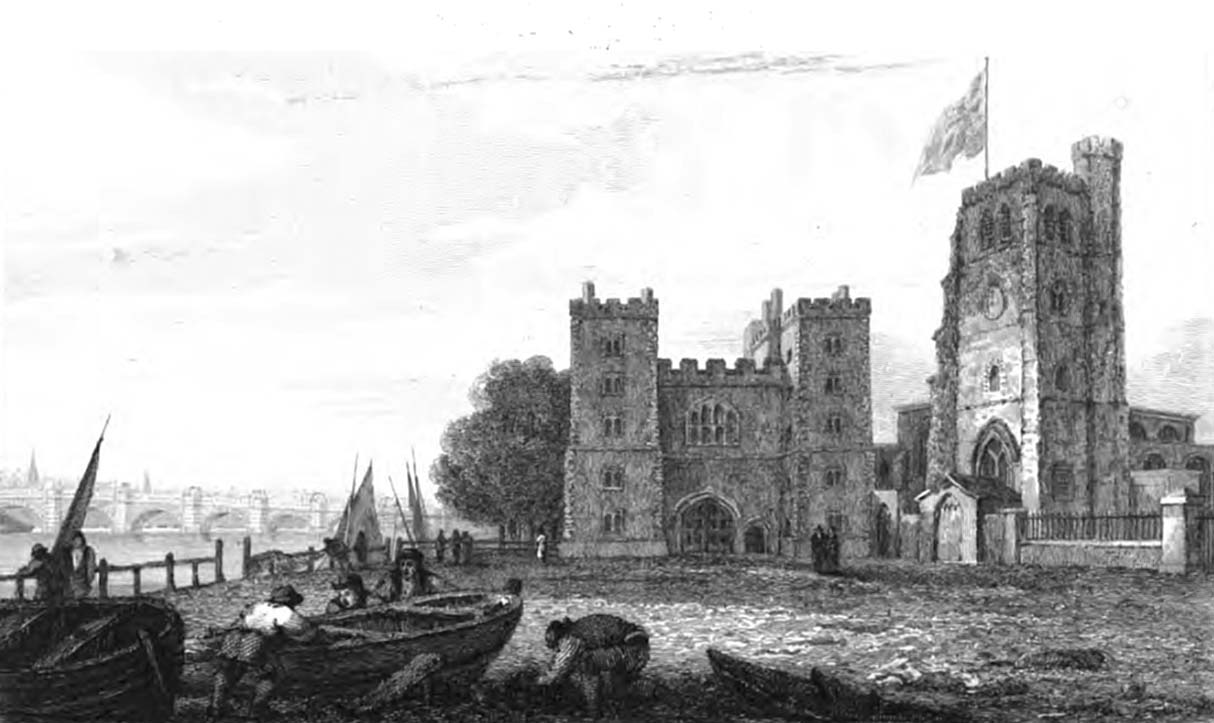 Lambeth Palace 1811