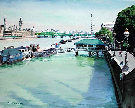 Westminster Bridge © 2000 Doug Myers