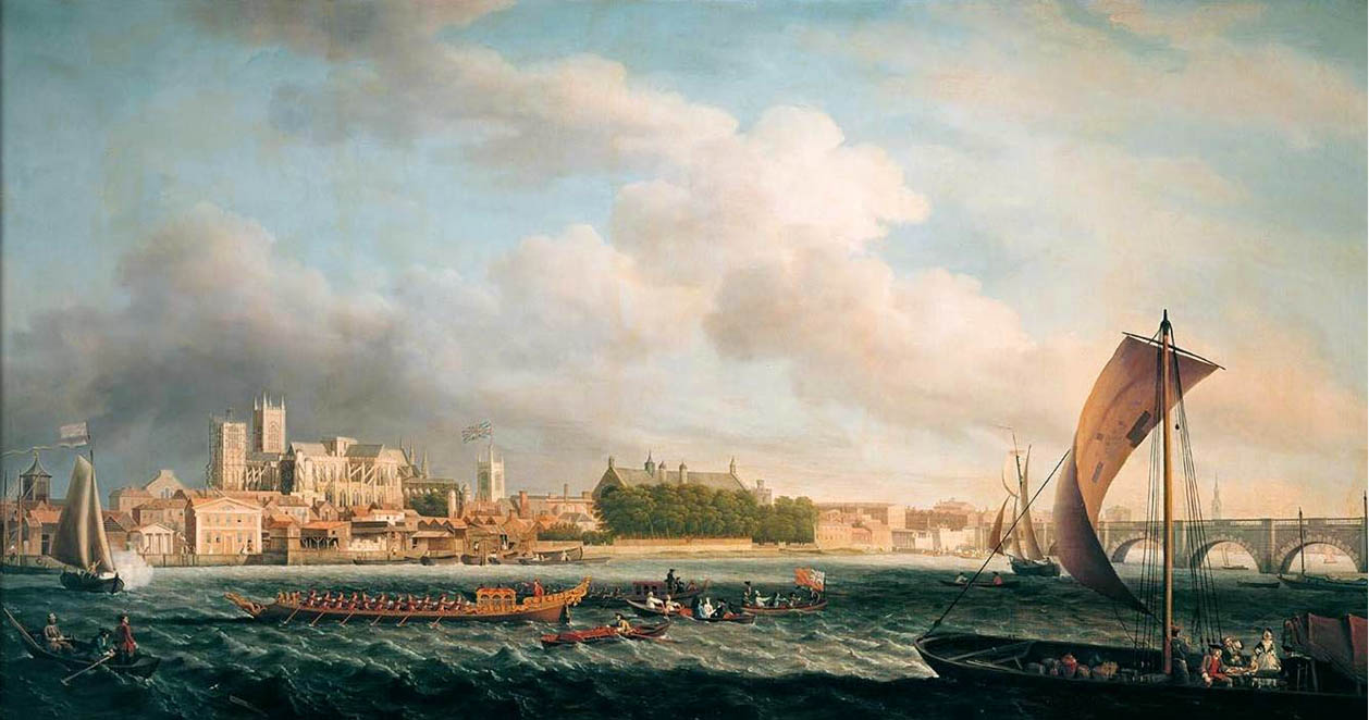 Westminster Bridge, Samuel Scott, 1746