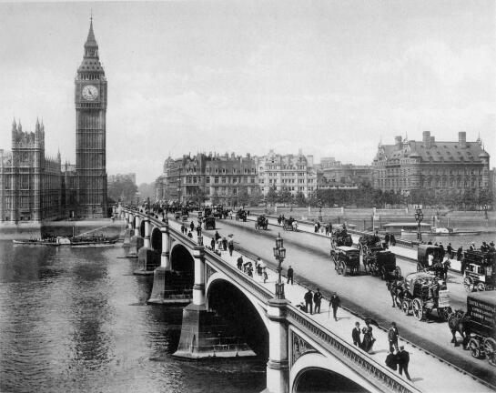 Westminster Bridge, 1902