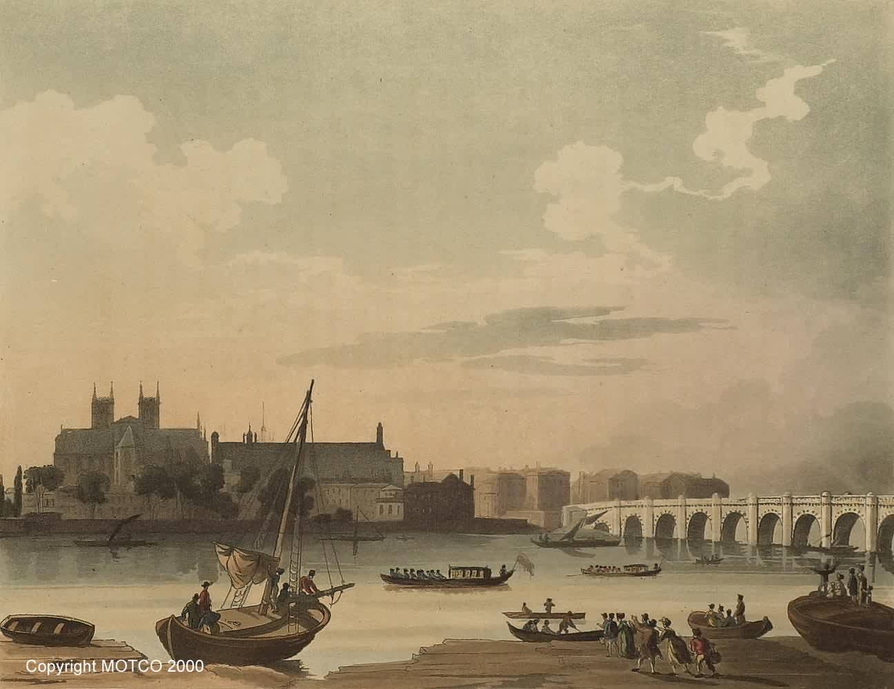 Westminster Bridge 1810 © MOTCO