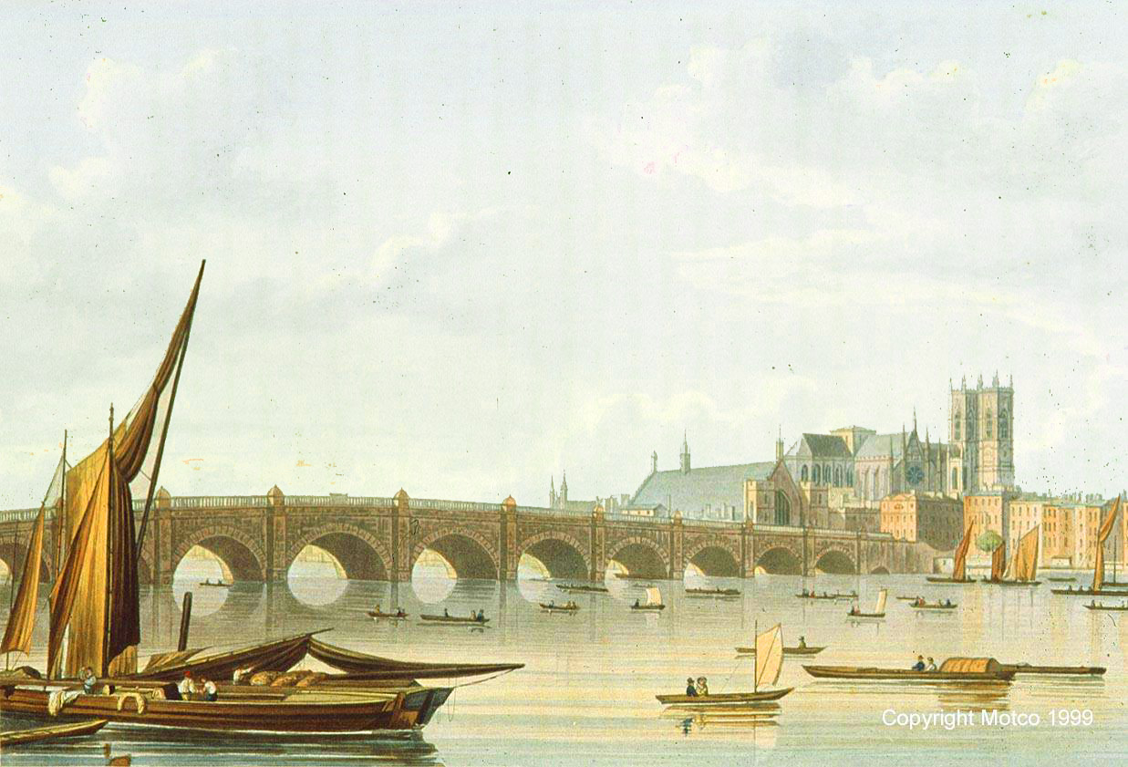 Westminster Bridge 1828 © MOTCO