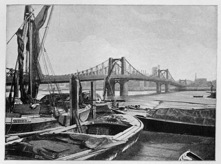 Lambeth Suspension Bridge, James Dredge, 1897