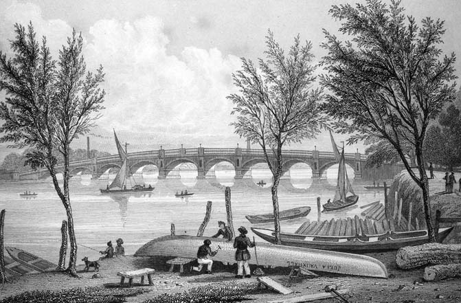 Vauxhall Bridge, 1827