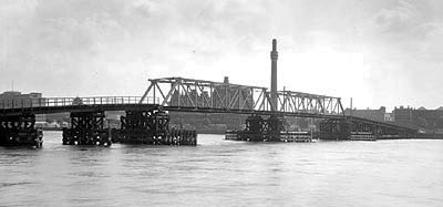 Millbank Emergency Bridge, 1943
