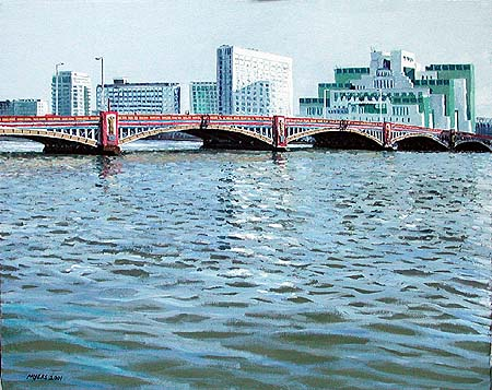 Vauxhall Bridge © 2001 Doug Myers