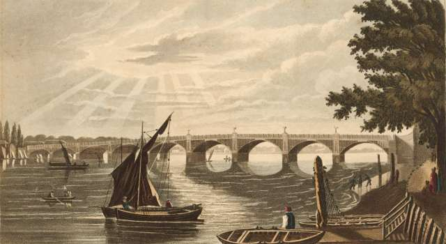 Vauxhall Bridge, 1817