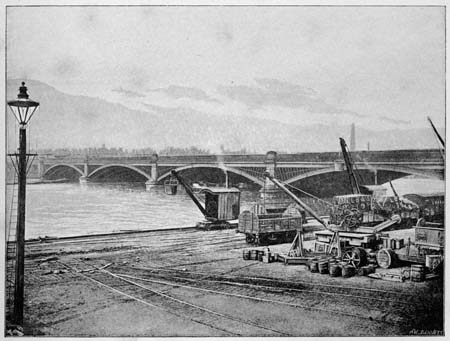 Pimlico Bridge, James Dredge, 1897