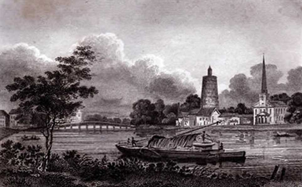 Battersea Bridge, 1786