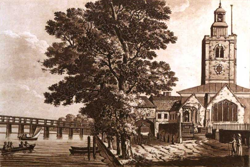 Battersea Bridge, 1802, Ireland