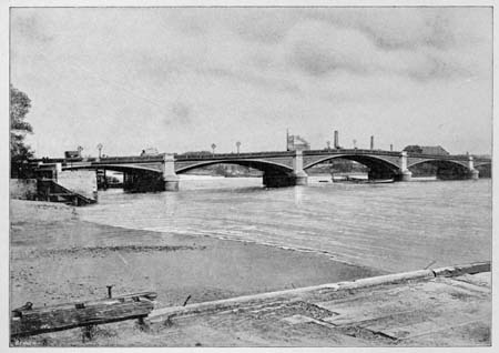 Battersea Bridge, James Dredge, 1897