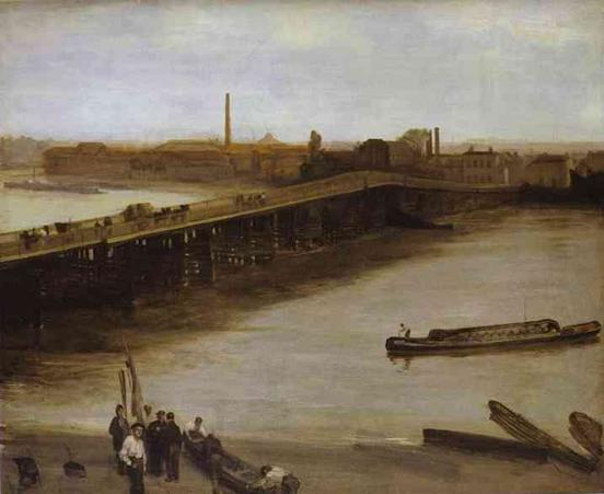 Old Battersea Bridge, 1859-65, Whistler