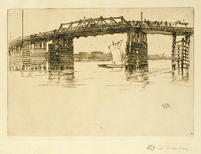 Battersea Bridge 1879, Whistler