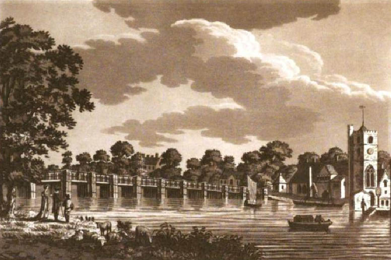 Putney Bridge 1802, Ireland