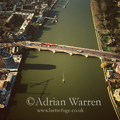 Putney Bridge Aerial View