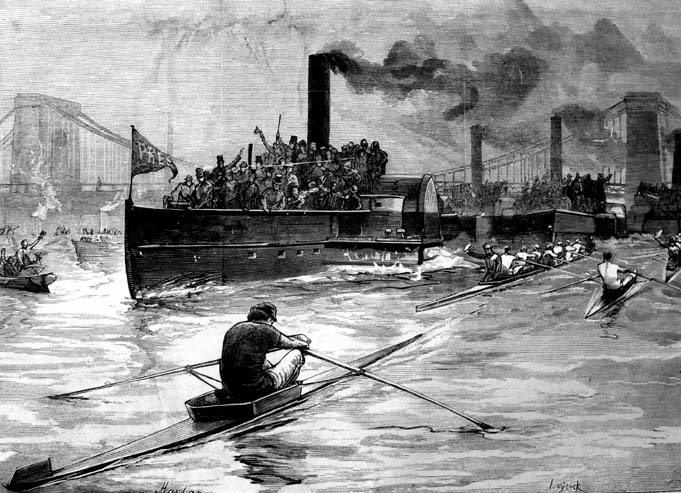 Championship of the Thames, 1881