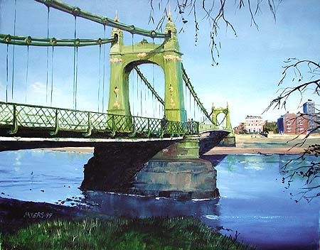 Hammersmith Bridge � 2005 Doug Myers